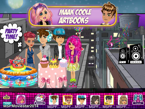 moviestarplanet spel