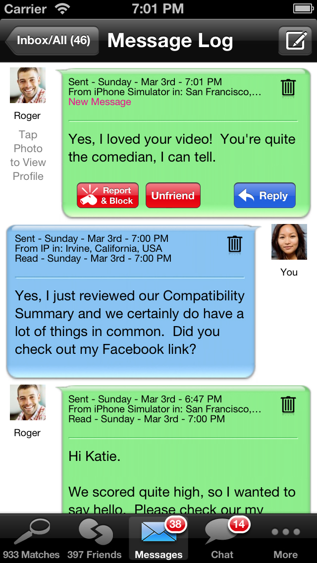 Date app for iphone