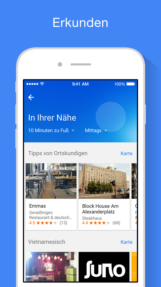 fahrrad navigation f r iphone im test google maps. Black Bedroom Furniture Sets. Home Design Ideas