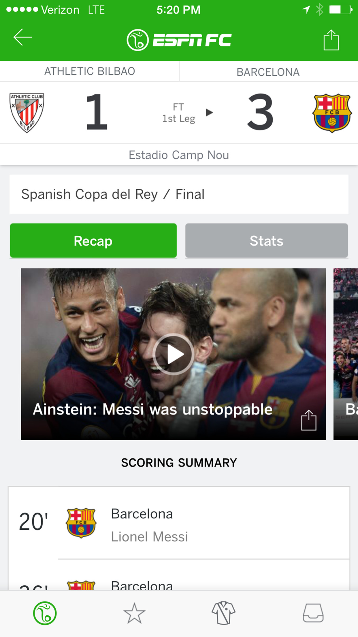 ESPN FC Football screenshot-3