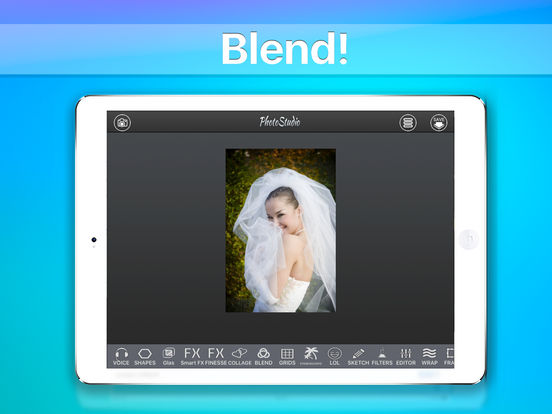 Photo Studio HD - Image editing effects collage Screenshots
