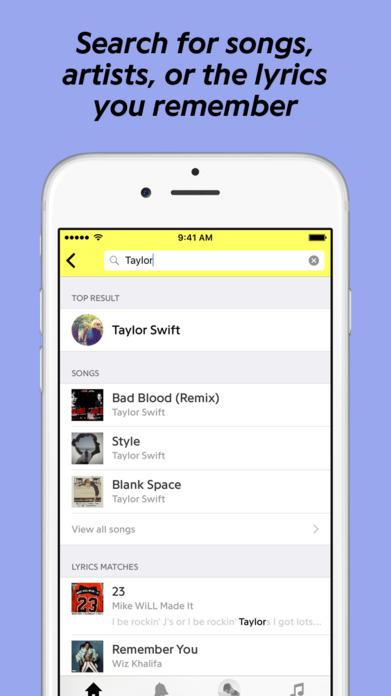 Genius: Song Lyrics + Music Knowledge Screenshot
