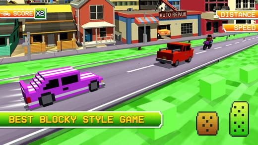 blocky voiture parking au volant sim simulateur dans l app store. Black Bedroom Furniture Sets. Home Design Ideas