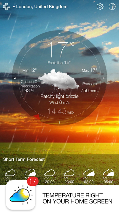 Weather Live Free - Weather Forecast & Warnings Screenshot