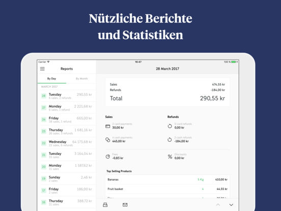 iZettle Screenshot