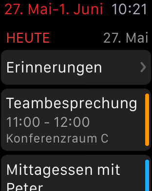 Fantastical 2 für iPhone - Kalendar + Erinnerungen Screenshot