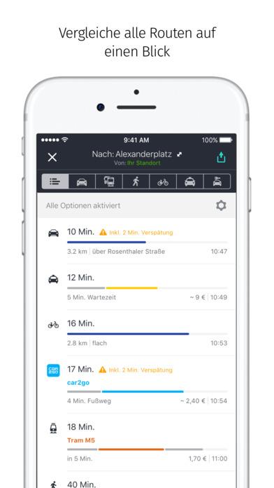 Die kostenlose Navi-App HERE von Nokia unter iOS im Test ...