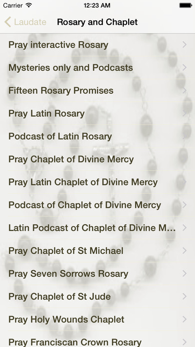 Laudate - #1 Free Catholic App Screenshot
