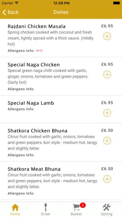 Indian Restaurant Kingsthorpe Northampton