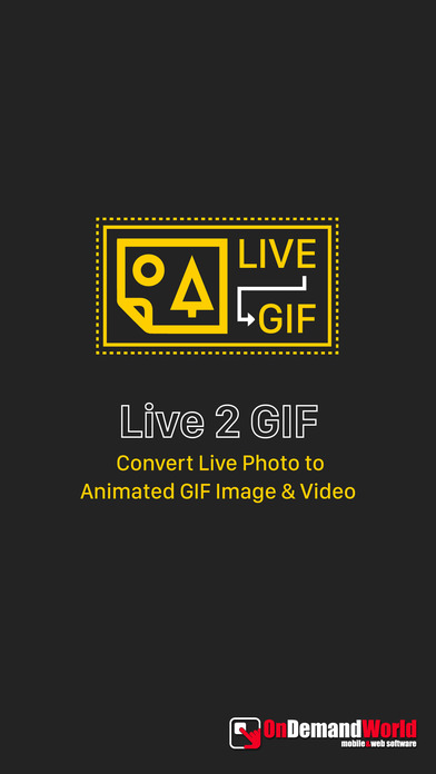 Live 2 GIF - Animated Image & Video for Live Photo Screenshot