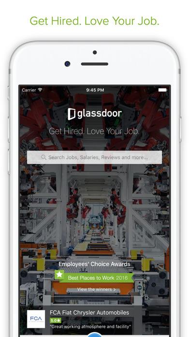 Glassdoor Job Search: Jobs, Salaries & Reviews Screenshot