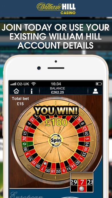 Free money william hill casino