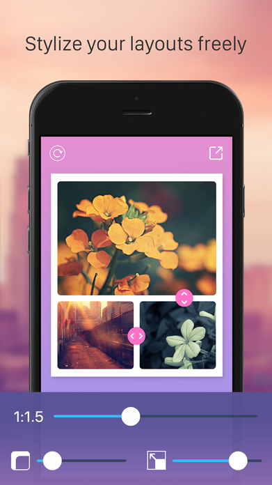 Pic Jointer – Photo Collage and Wish Layout Editor Screenshot