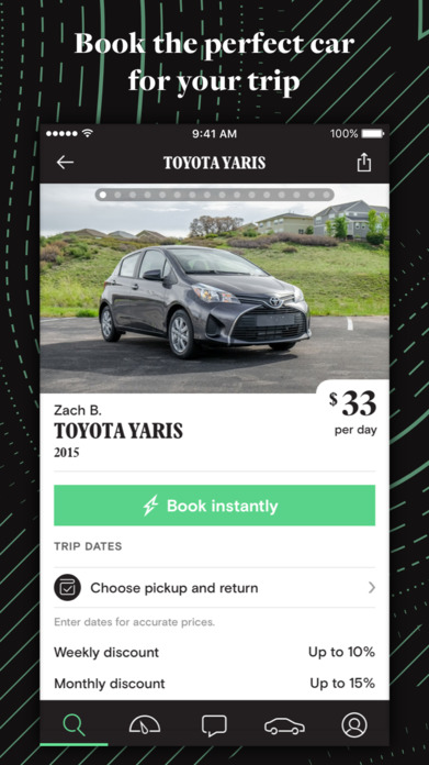 Turo - Rent Better Cars, Courtesy of Local Owners Screenshot