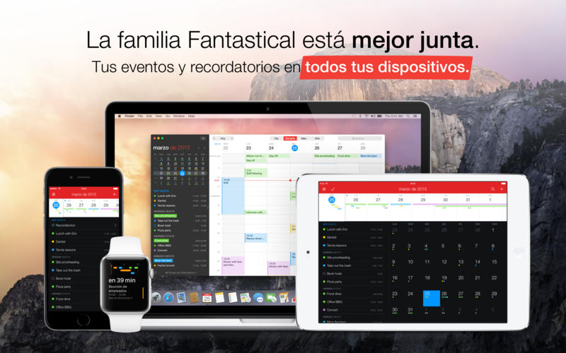 Fantastical 2 - Calendario y Recordatorios Screenshot