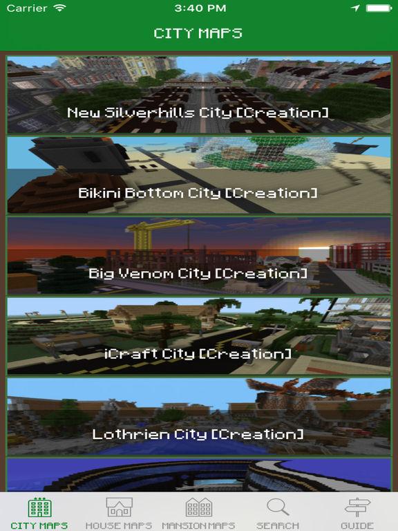 minecraft pocket edition ios download maps