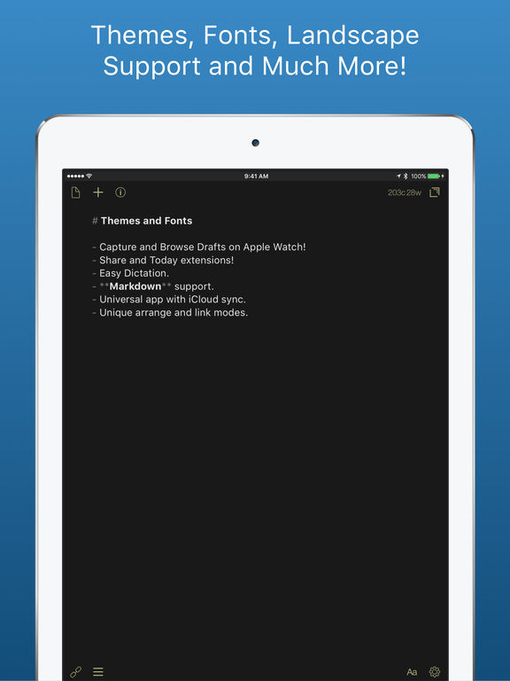 Drafts - Quickly Capture Notes, Share Anywhere! Screenshot