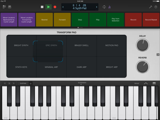 Logic Remote Screenshot
