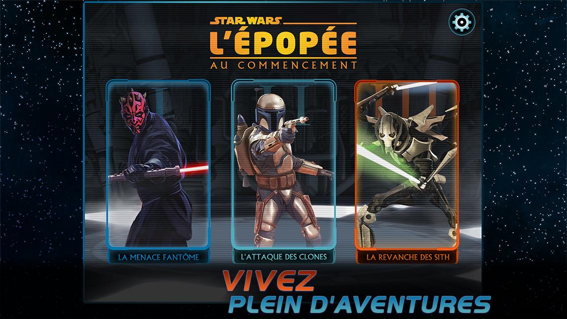 Star Wars l'épopée : Au commencement screenshot-0
