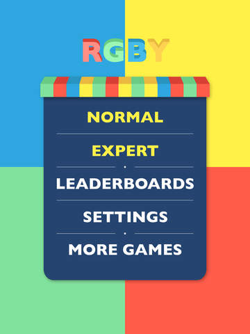 RGBY Challenge - Left Brain vs. Right Brain Screenshot