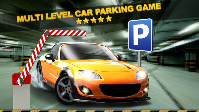 multi level car parking simulator game gratuit jeux de voiture de course dans l app store. Black Bedroom Furniture Sets. Home Design Ideas