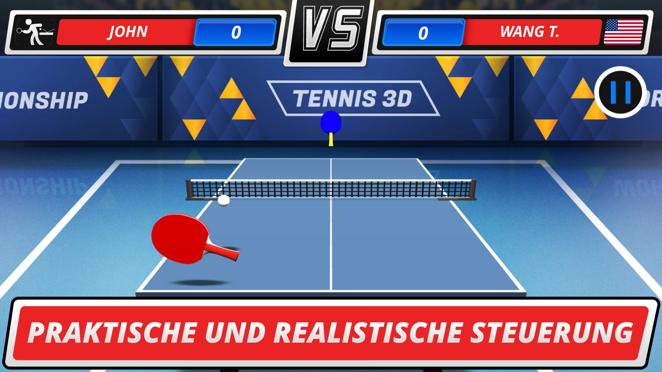 Table Tennis 3D - Virtual Championship