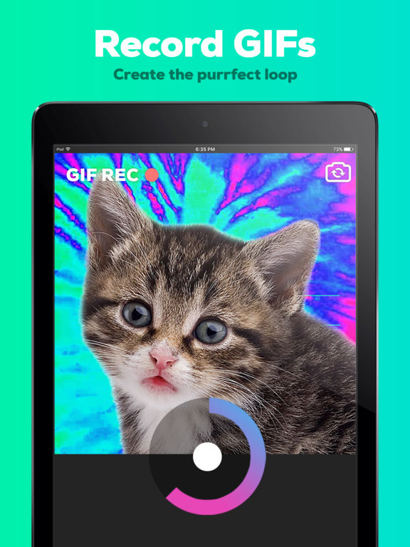 GIPHY CAM. The GIF Camera Screenshot