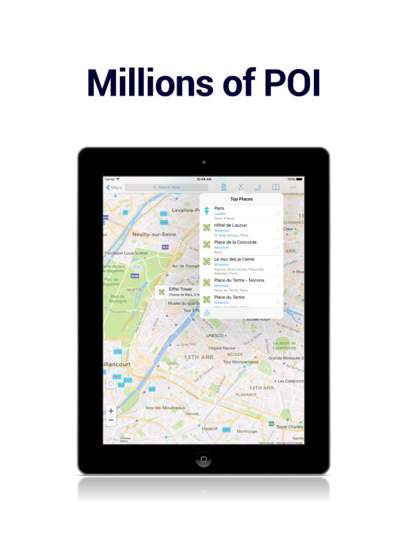 Offline Maps - for Google Edition & Wikipedia Screenshot