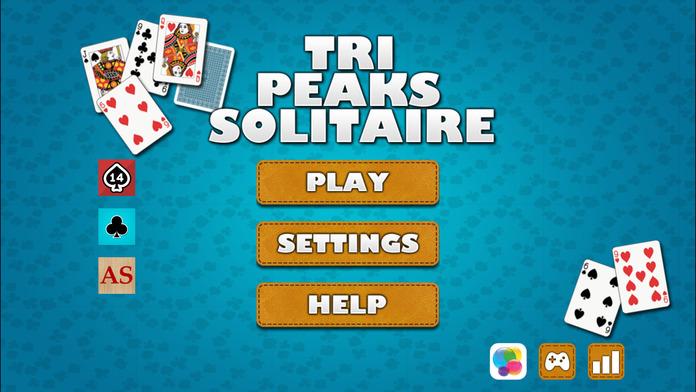 Tri-Peaks Solitaire Screenshot