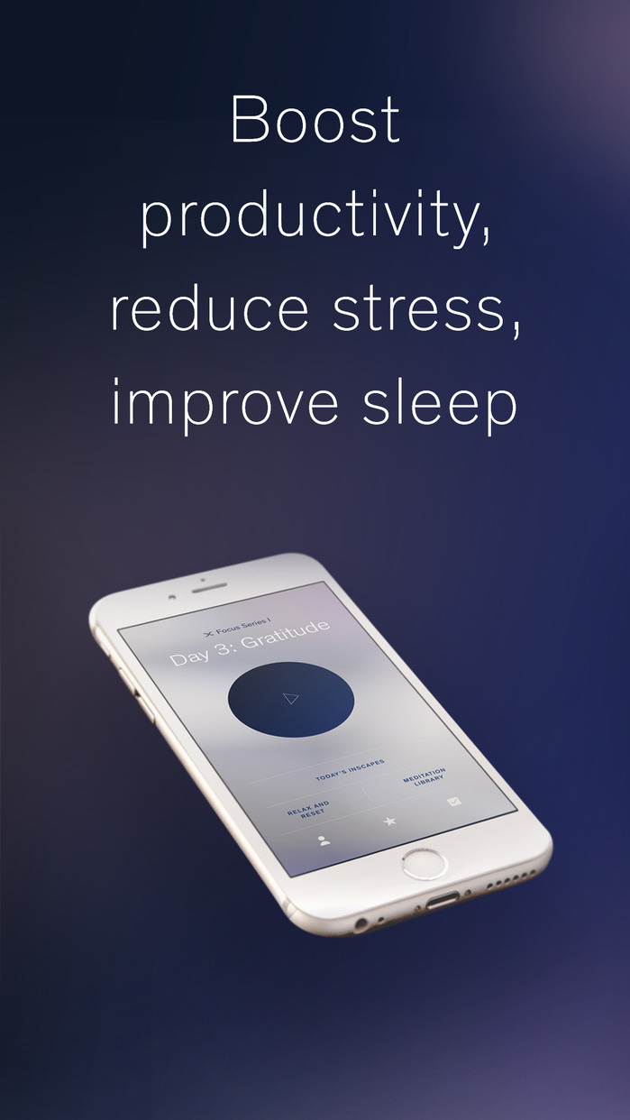 Inscape: Guided Meditation, Mindfulness & Sleep Screenshot