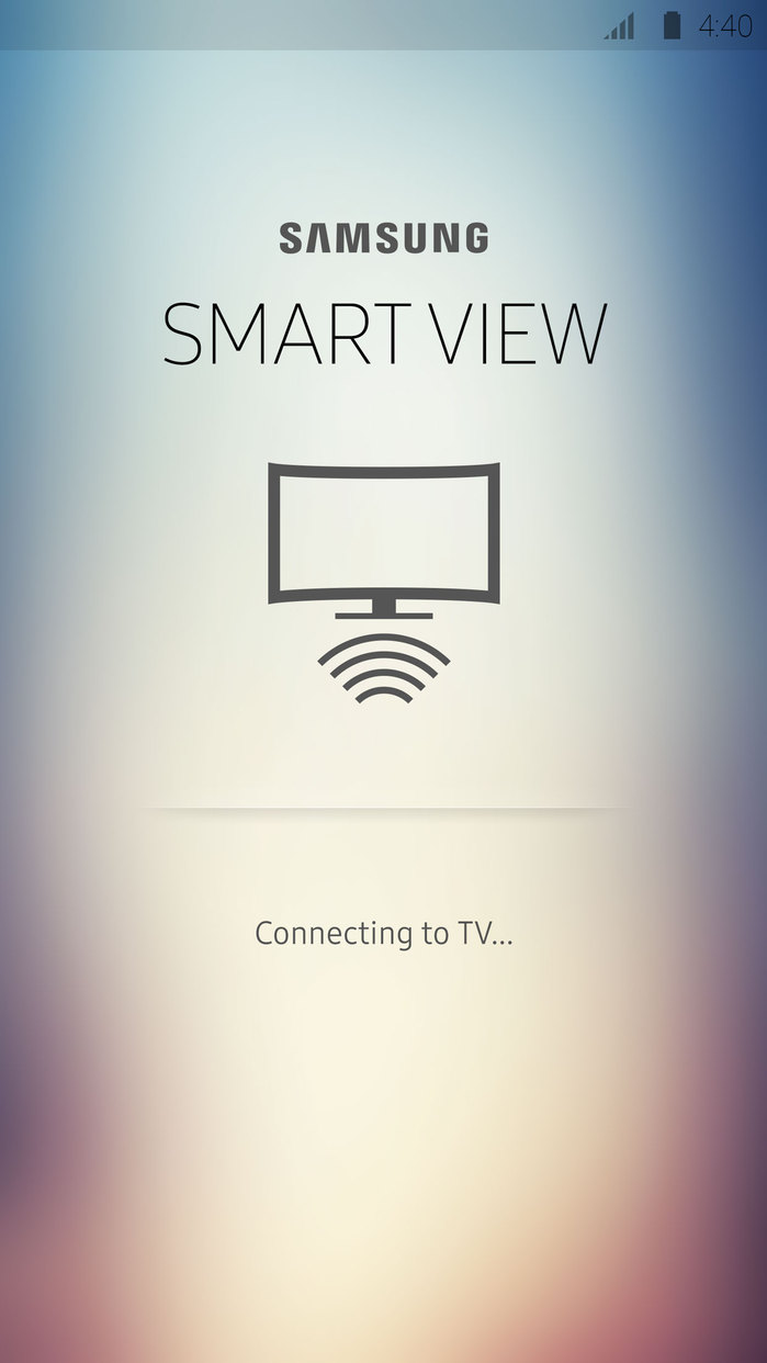 Samsung Smart View Screenshot