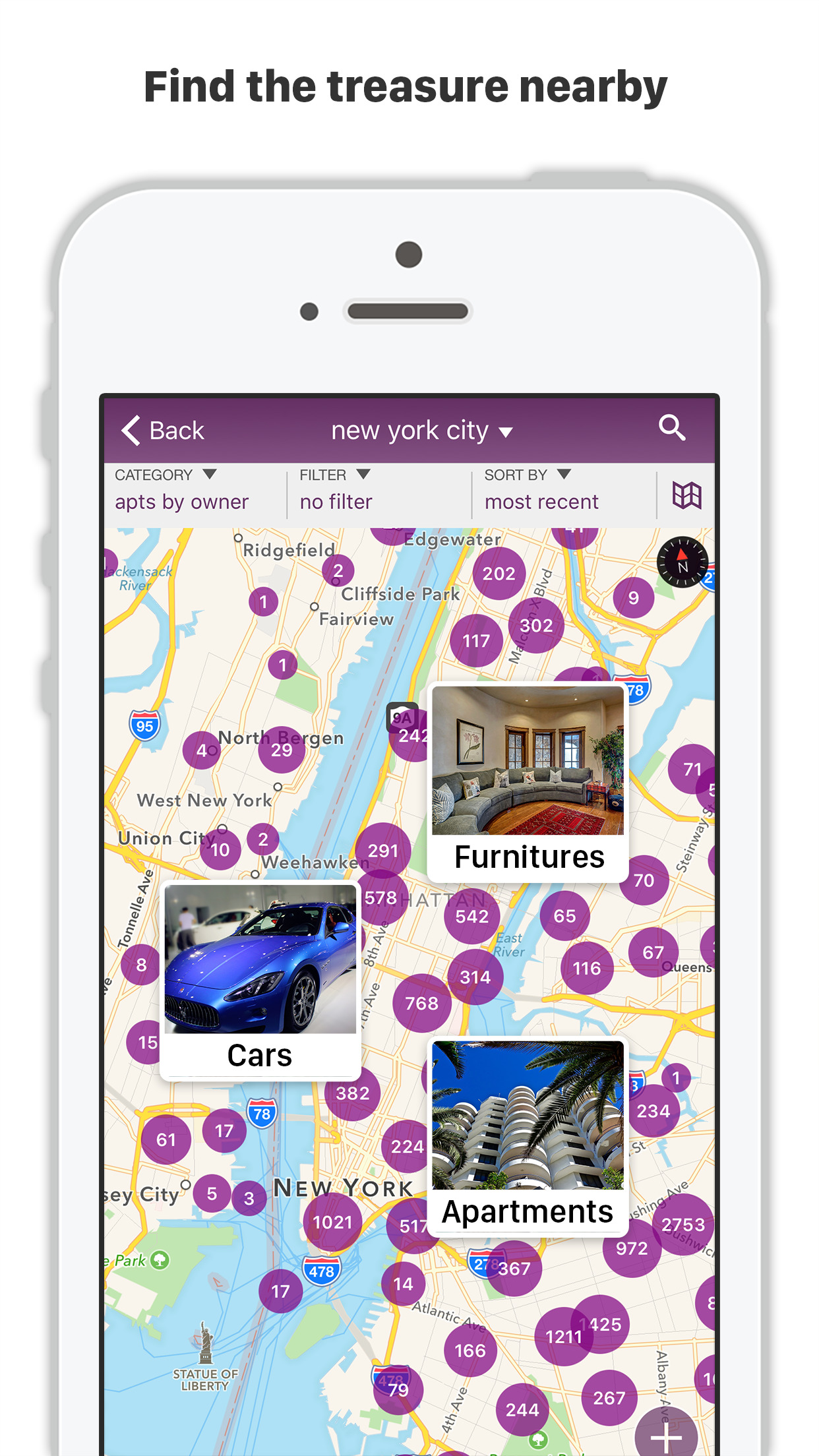 CPlus for Craigslist app - mobile classifieds Screenshot