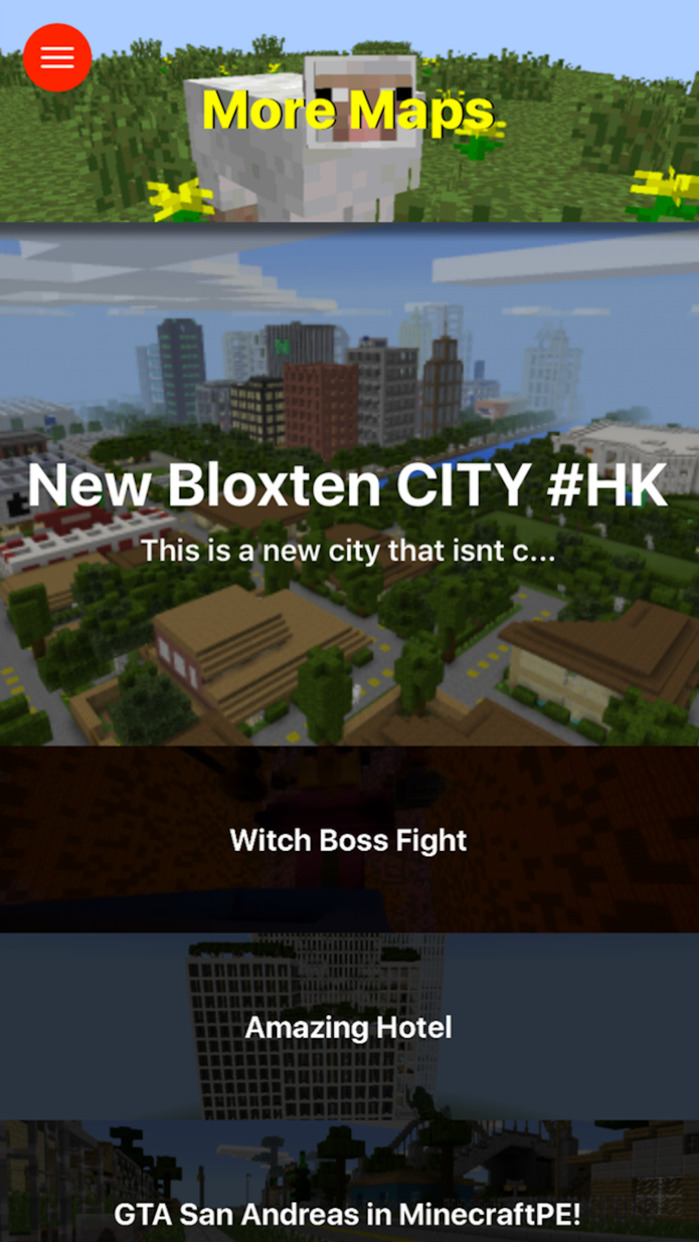 City Maps for Minecraft PE - The Best Maps for Minecraft Pocket Edition (MCPE) Screenshot