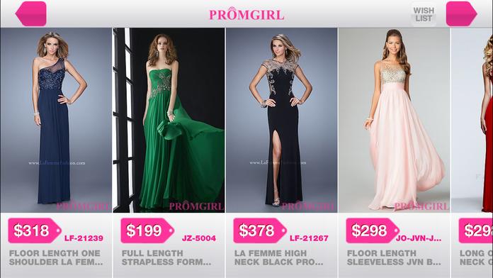 Promgirl Shop Screenshot