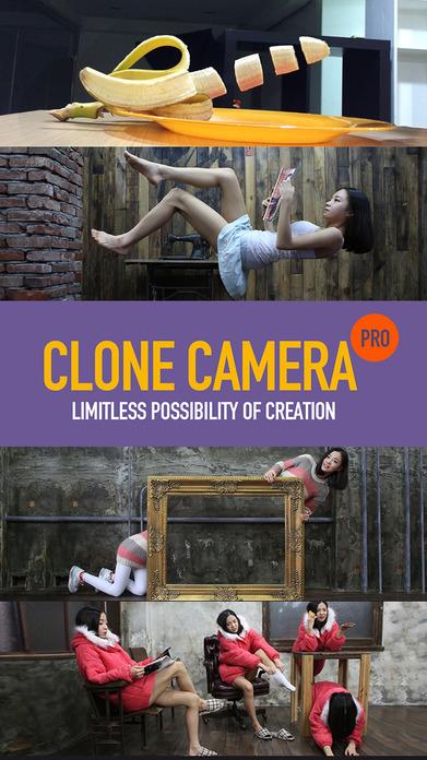 Clone Camera Pro Screenshot