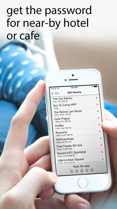 Offline wifimap: free wi-fi & hotspot passwords Screenshots