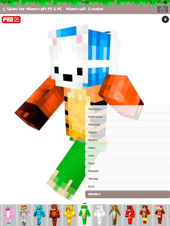 Skins For Minecraft Pe Amp Pc Free Skins Ipa Cracked For