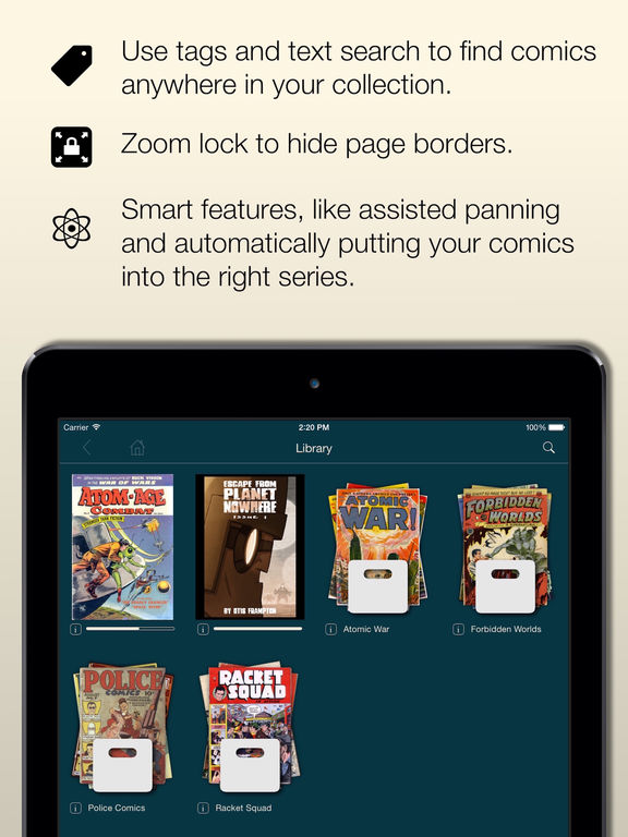 Comic Zeal Comic Book Reader IPA Cracked for iOS Free Download