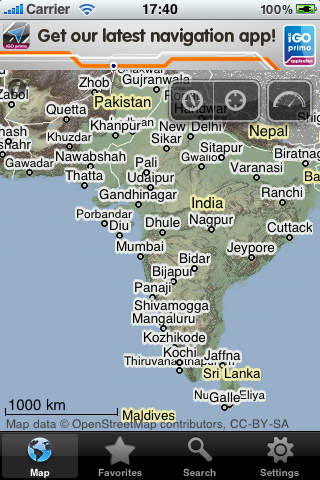 Asia and russia offline map with directu free revenue iphone gumiabroncs Image collections