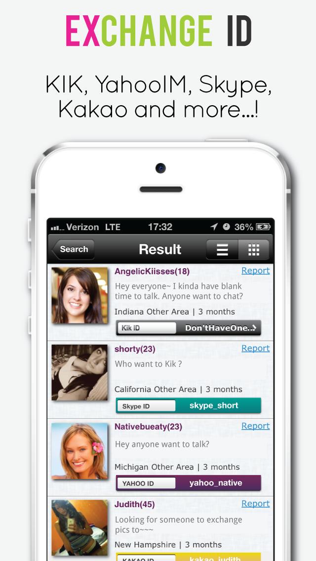 Flirt-Kik-App
