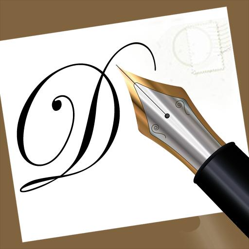 Handwritten email