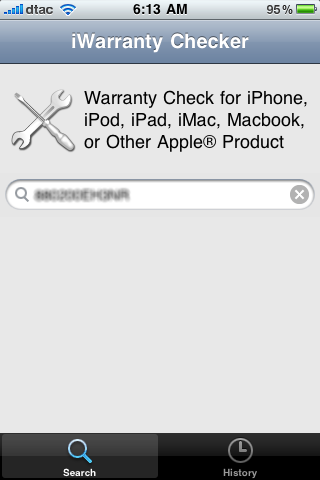 iWarranty Checker (Check warranty for Apple products)