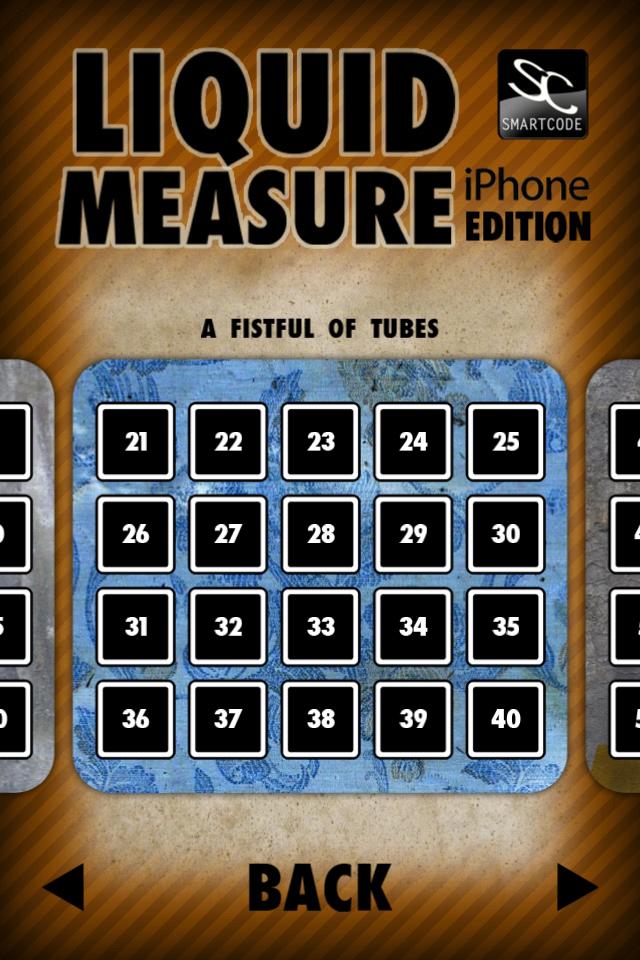 Liquid Measure Screenshot