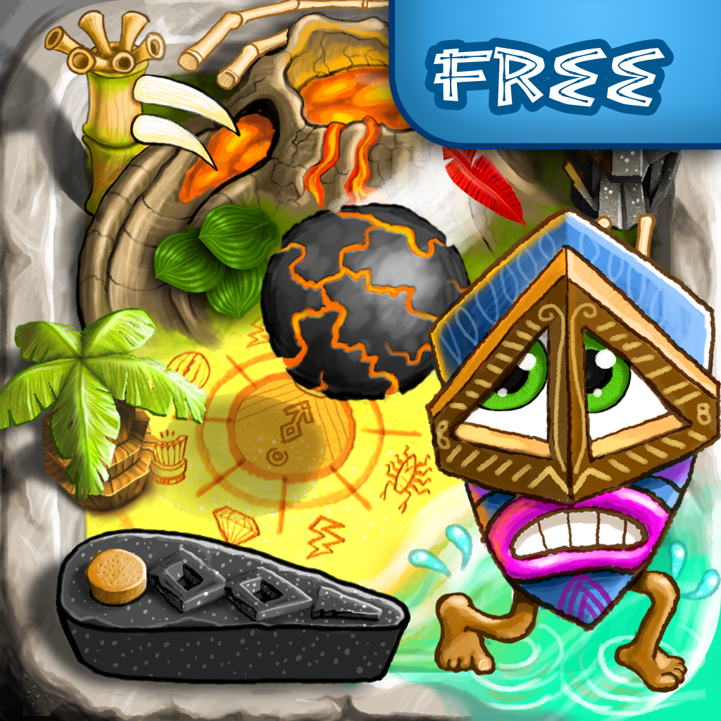 Pin Tiki Ball Free