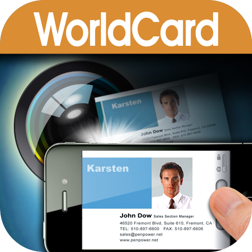 WorldCard Mobile - business card reader & business card scanner
