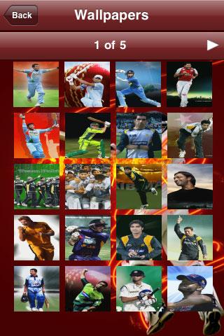 Cricket Companion V1.2 Screenshot
