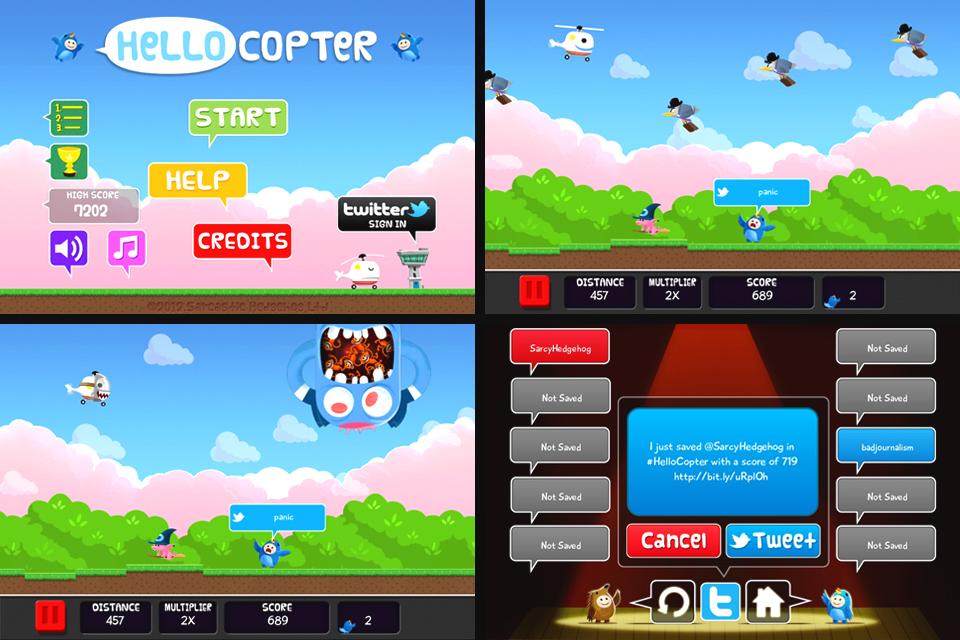 Hello Copter Screenshot
