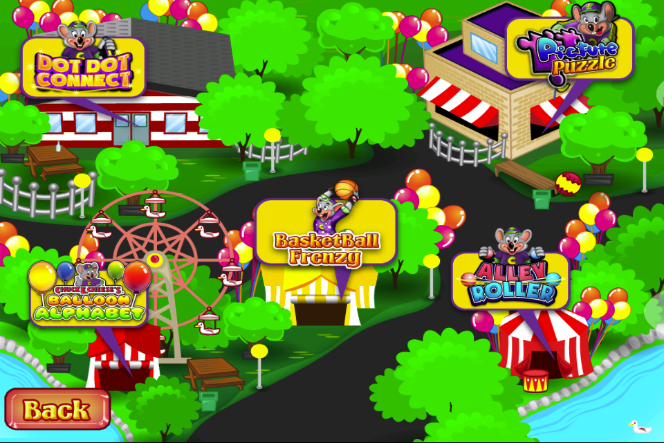 Chuck E. Cheese's Carnival Fun Pack For IPhone