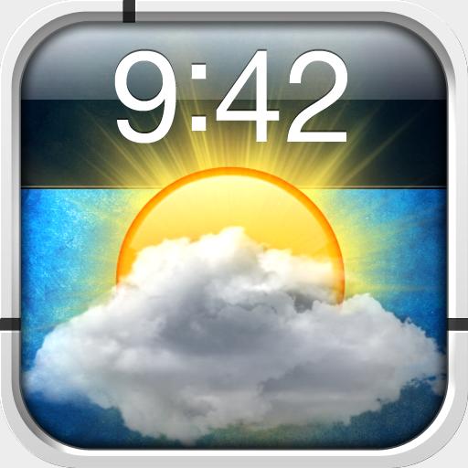 Lock Screen Weather