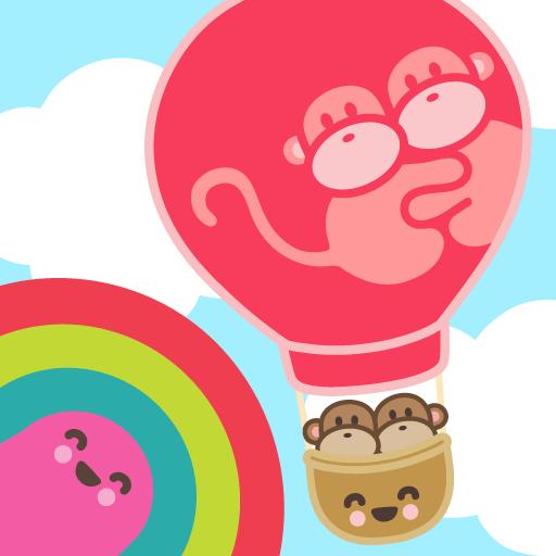 Kiwi and Pear's Balloon Adventure